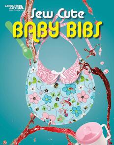 Leisure Arts  Sew Cute Baby Bibs
