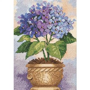 Dimensions  Hydrangea in Bloom - Cross Stitch Kit