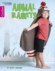 Leisure Arts  Animal Blankets