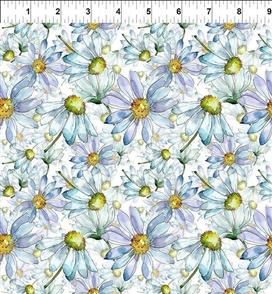 In the Beginning Fabrics  - Daisies 6TLC-1