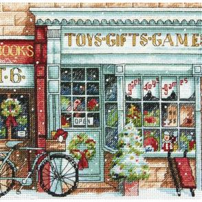 Dimensions  Counted Cross Stitch Kit - Toy Shoppe