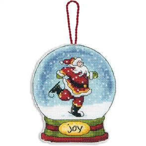 Dimensions  Ornament Cross Stitch Kit - Joy Snow Globe