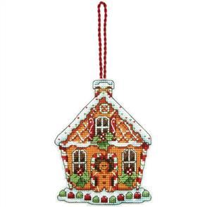 Dimensions  Ornament Cross Stitch Kit - Gingerbread House