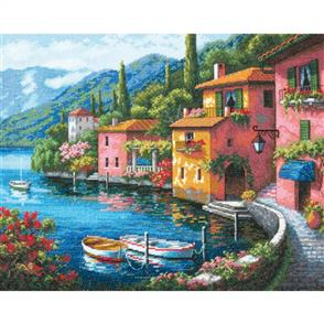 Dimensions  Gold Collection Cross Stitch Kit - Lakeside Village