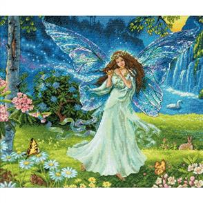 Dimensions  Gold Collection - Spring Fairy - Cross Stitch Kit