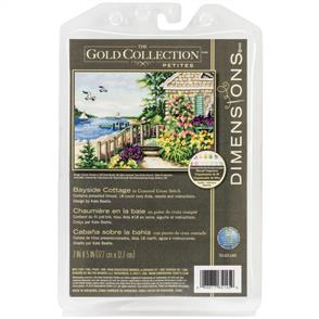Dimensions  Counted Cross Stitch Kit- Bayside Cottage