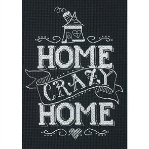 Dimensions  Home Crazy Home - Cross Stitch Kit