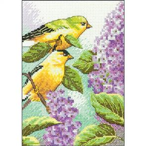 Dimensions  Goldfinch - Counted Cross Stitch Kit