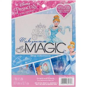 Dimensions  Disney Princess Counted Cross Stitch Kit - Make Your Own Magic