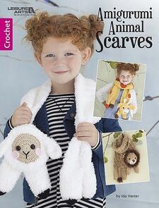 Leisure Arts  Amigurumi Animal Scarves