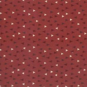 Lecien Lynette Anderson Scandinavian Christmas II - Hearts Red