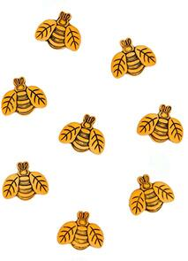 Dress It Up  Embellishments - Button Fun Bees