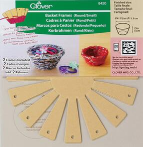 "Clover  Basket Frames 2-Piece - Small, Round 2"""