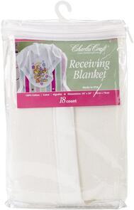 Charles Craft Receiving Blanket 18count
