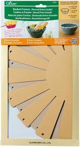Clover  Basket Frames 2-Piece - X-Large, Round