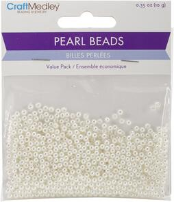 The Beadsmith Pearl Beads Valu-Pack - 10grams
