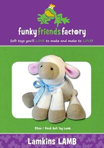 Funky Friends Factory Lamkins Lamb Toy Sewing Pattern