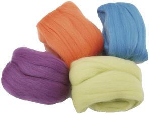 Clover Natural Wool Roving Assortment