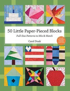 C&T Publishing  50 Little Paper-Pieced Blocks