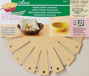 Clover  Basket Frames 2-Piece - Large, Oval