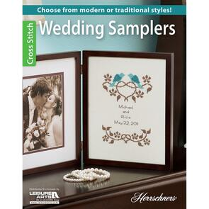 Leisure Arts  Wedding Samplers