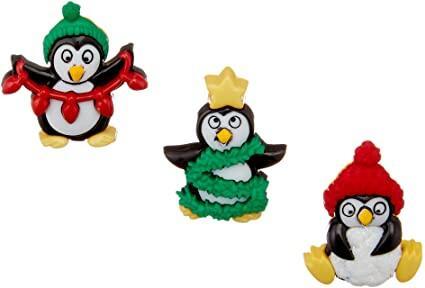 Dress It Up  Embellishments - Holiday Penguins