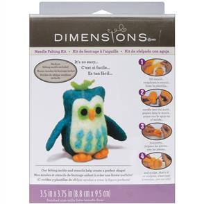Dimensions  Feltworks Needle Felting Kit - Owl