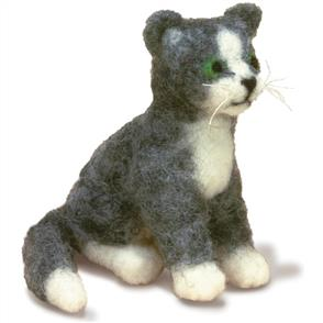 Dimensions  Feltworks Needle Felting Kit - Cat