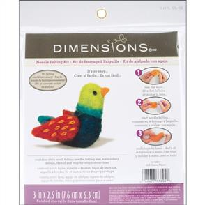 Dimensions Feltworks Needle Felting Kit - Bird