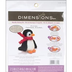 Dimensions  Feltworks Needle Felting Kit - Penguin