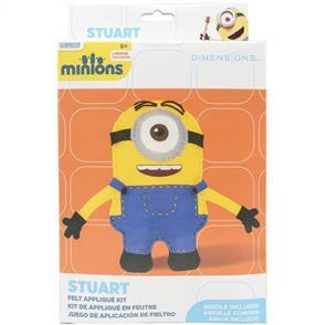 Dimensions  Minion Stuart Stuffable Felt Applique Kit