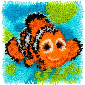 "Dimensions  Disney / Pixar Latch Hook Kit: Nemo (12""X12"")"