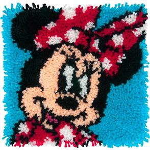 "Dimensions Disney Latch Hook Kit: Minnie Mouse (12""X12"")"