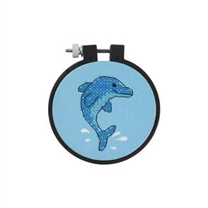 Dimensions  Learn-A-Craft Counted Cross Stitch Kit - Dolphin Delight
