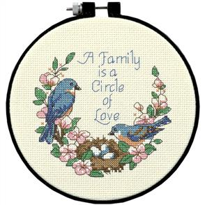 Dimensions  Family Love  Counted Cross Stitch Kit