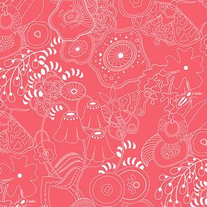 Andover Fabric  Alison Glass Hopscotch 20 Grow - Pink