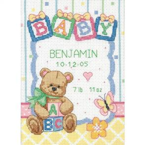 Dimensions  Baby Blocks - Cross Stitch Kit