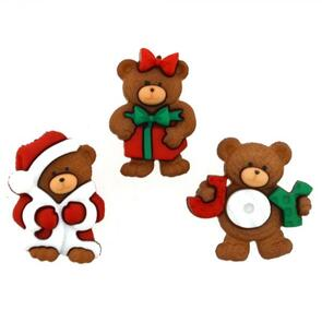 Dress It Up  Embellishments - A Beary Merry Christmas