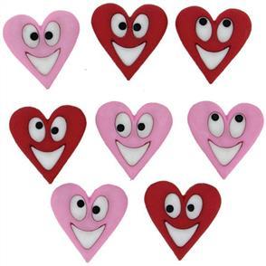Dress It Up Embellishments - Happy Hearts
