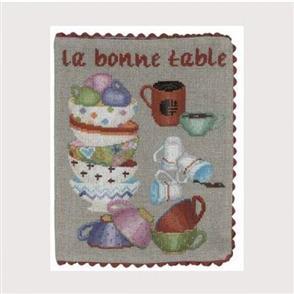 Le Bonheur Des Dames  La Bonne Table - Cross Stitch Kit
