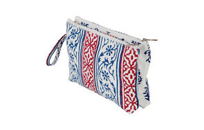 Knitpro Hand Block Printed Fabric Bag - Grace