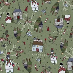 Nutex  Peace and Joy Collection - 80620 - Winter's Night - 2 Spruce