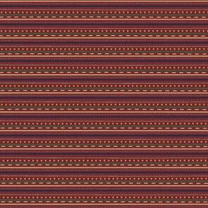 Nutex  Peace and Joy Collection - 80620 - Stripe - 02 Berry
