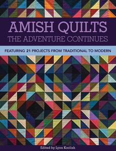 C&T Publishing  Amish Quilts―The Adventure Continues