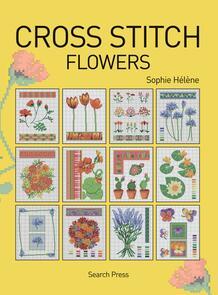 Search Press  Cross Stitch Flowers