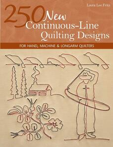 C&T Publishing  250 New Continuous-Line Quilting Designs