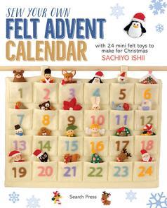 Search Press  Sew Your Own Felt Advent Calendar