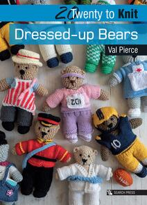 Search Press  20 to Knit: Dressed-up Bears