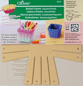 """Clover  Basket Frames 2-Piece - Small, Square 3"""""""