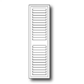 Poppystamps  Die - Grand Madison Window Shutter